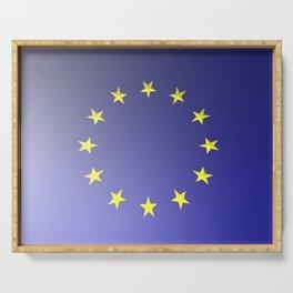 European Union flag Serving Tray