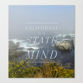 California is a State of Mind Canvas Print