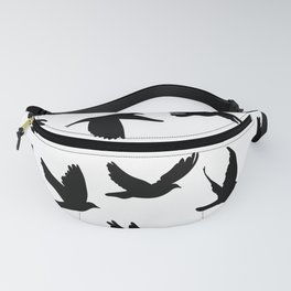 Doves and pigeons Fanny Pack
