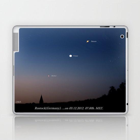 Southeast sky before sunset. Laptop & iPad Skin