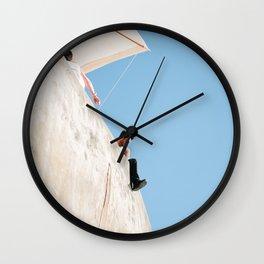 Holiday Blue Wall Clock