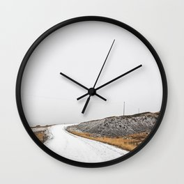 Roads Were Made For Journeys III Wall Clock