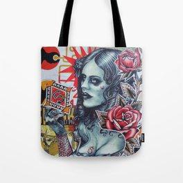 Des roses pour n°5 Tote Bag