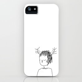antlers 1 iPhone Case