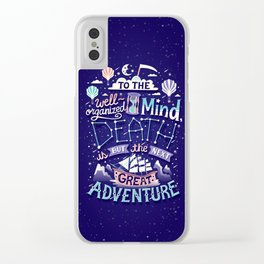 Great Adventure Clear iPhone Case