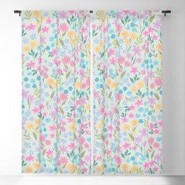 spring petit floral Blackout Curtain