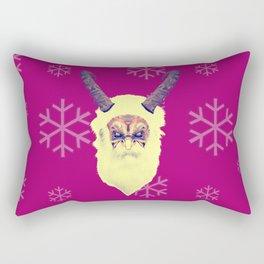 bad santa Rectangular Pillow