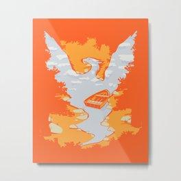 River Phoenix - Autumn Metal Print