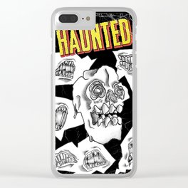 HAUNTED Clear iPhone Case