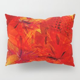 Early Morning Orange Lilies Pillow Sham