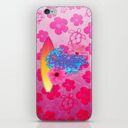 Surfer Girl iPhone Skin
