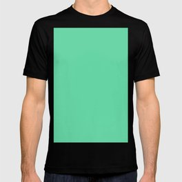 Medium aquamarine T-shirt