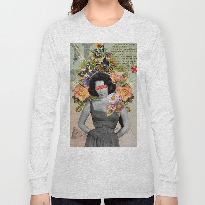 Public Figures - Liz Taylor Long Sleeve T-shirt