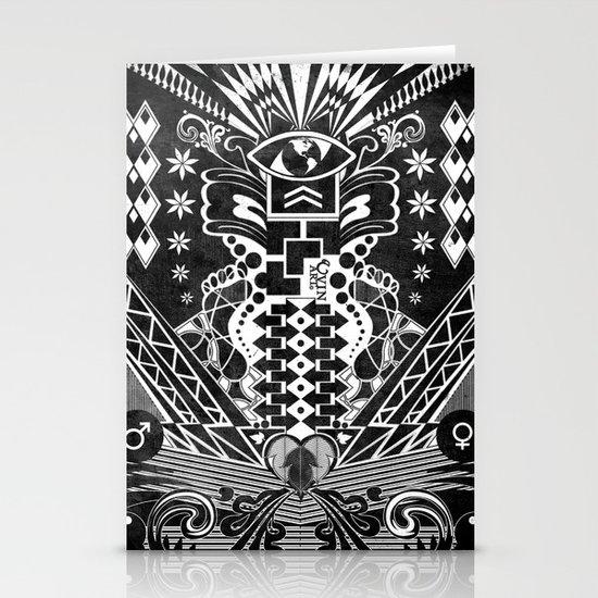 Insane Black & White Stationery Cards
