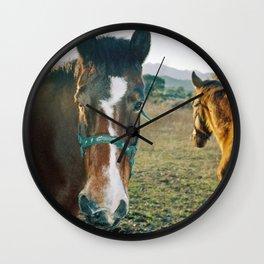 HORSES Wall Clock