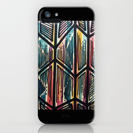 Jaded Jagged iPhone Case