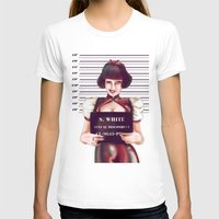 snow white T-shirts featuring Snow white by adroverart
