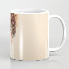 "Egon Schiele ""Portrait of Edith Schiele"" Coffee Mug"