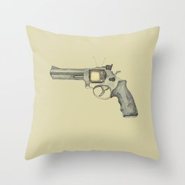 killer television Throw Pillow