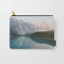 Pastel Sunrise over Moraine Lake Carry-All Pouch