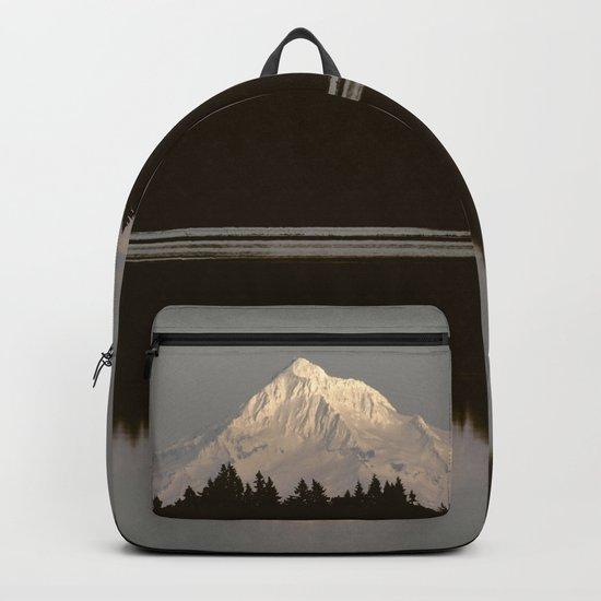 Mount Hood Reflection Backpack