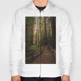 Muir Woods   California Redwoods Forest Nature Travel Photography Hoody