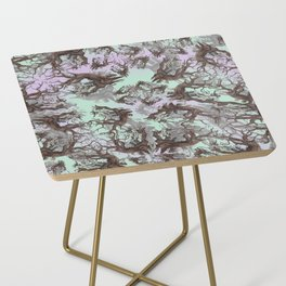 ANCIENT PINE SNAG VINTAGE PEN DRAWING Side Table