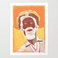Bunny Wailer Art Print