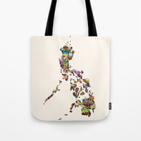 philippines Tote Bags featuring 7,107 Islands | A Map of the Philippines by QUEQZZ