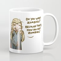 thranduil Mugs featuring Thranduil Zombies  by BlacksSideshow