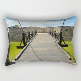 View from the Porticulis  Rectangular Pillow
