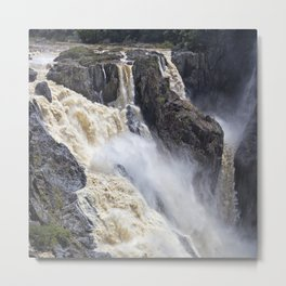 Enjoy the waterfall Metal Print