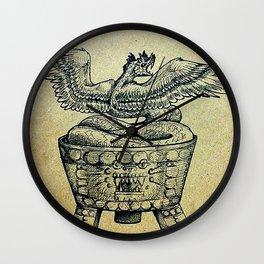 Quetzalcoatl Wall Clock