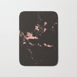 Black Marble #7 #decor #art #society6 Bath Mat