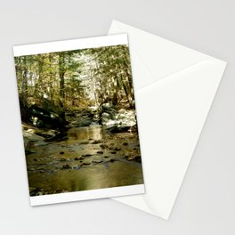 Cobb Brook Waterfall Stationery Cards