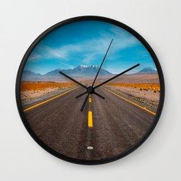 Incredible american road Wall Clock