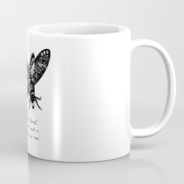 Dylan Thomas - Madman Coffee Mug