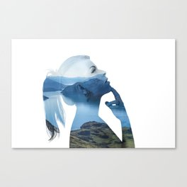 Serenity One Canvas Print