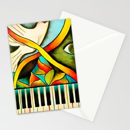Piano- Behold Stationery Cards
