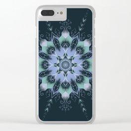 """""""Dream"""" mandala Clear iPhone Case"""
