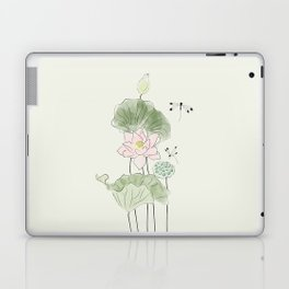 Pond of tranquility Laptop & iPad Skin