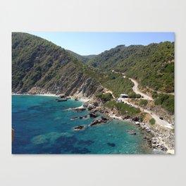 "Skopelos ""greek island""!!!!!!! Canvas Print"