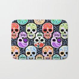 Calaveras_ Sugar Skulls_Celebracion del Color_RobinPickens Bath Mat