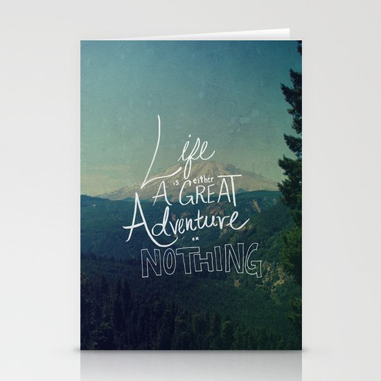 Great Adventure II Stationery Cards