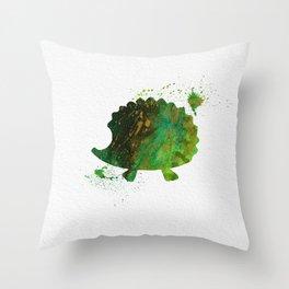 Hedgehog 027 Throw Pillow