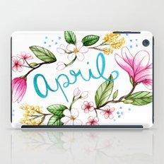 April Flowers iPad Case