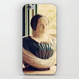 Woman in a Window iPhone Skin