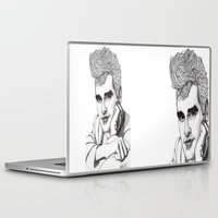 the smiths Laptop & iPad Skins featuring This Charming Man  by Paul Nelson-Esch Art