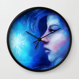 The Ice Queen Wall Clock
