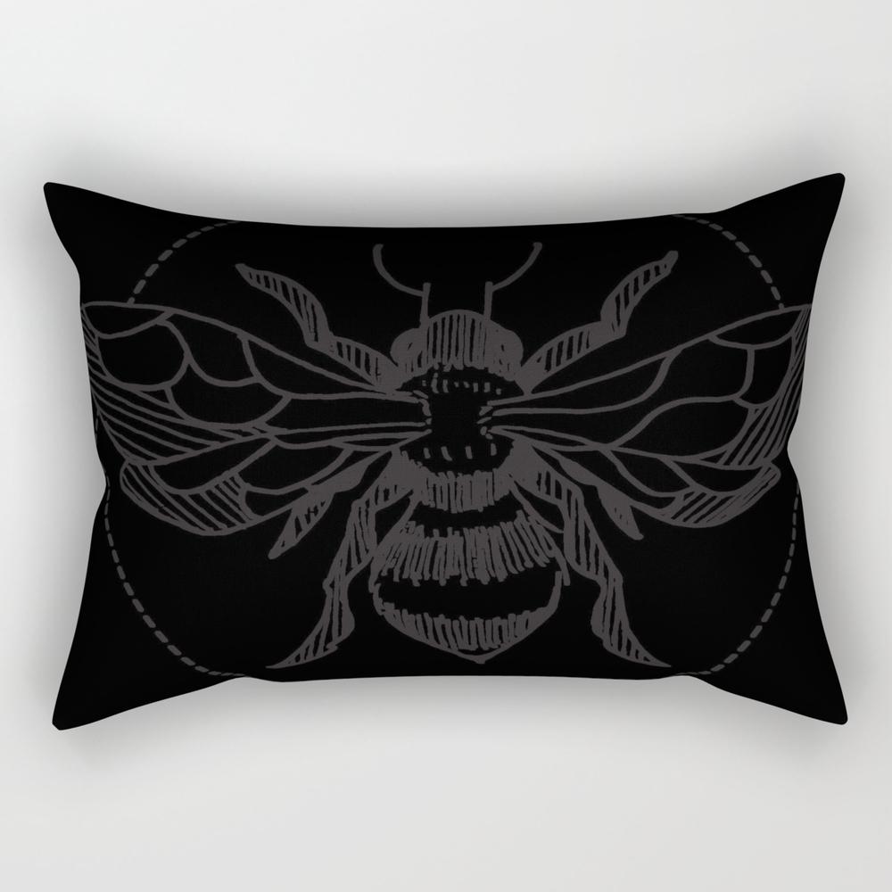 Pen&ink Bee Tattoo Rectangular Pillow RPW8505353
